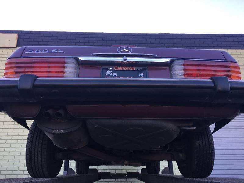 Used 1988 Mercedes Benz 560 Class 560 SL 2dr Convertible