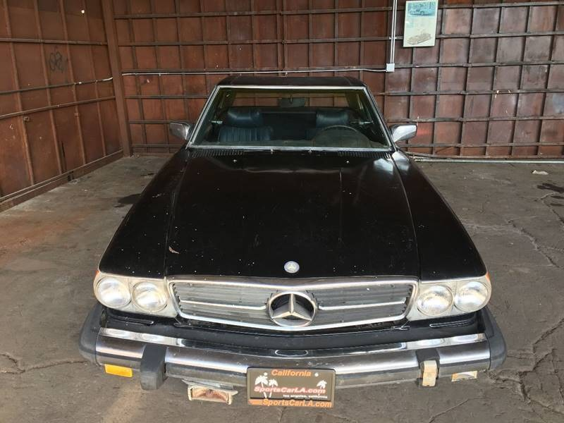 New 1976 Mercedes Benz 450 SL TWO TOPS
