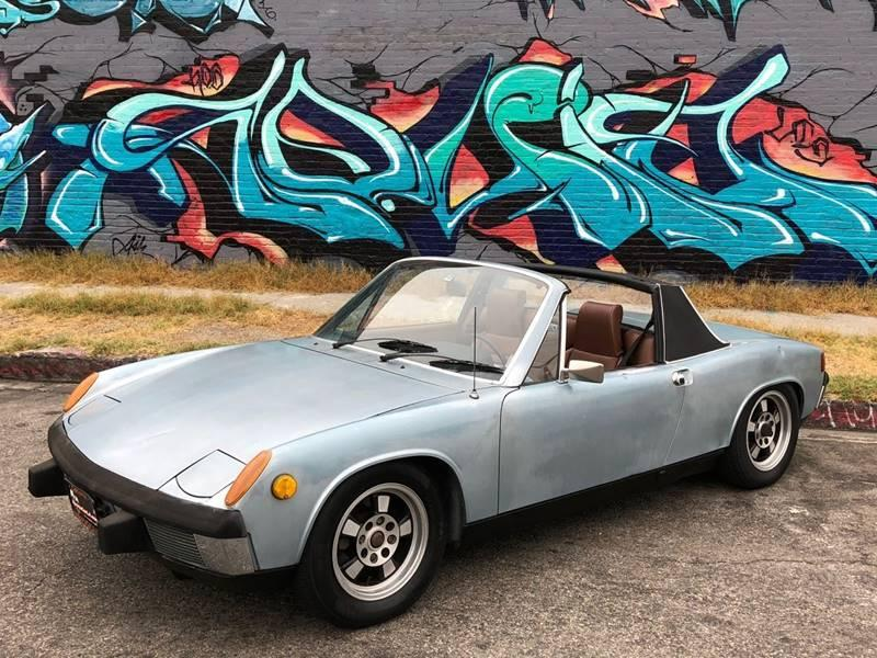 Used 1974 Porsche 914 18L Five Speed