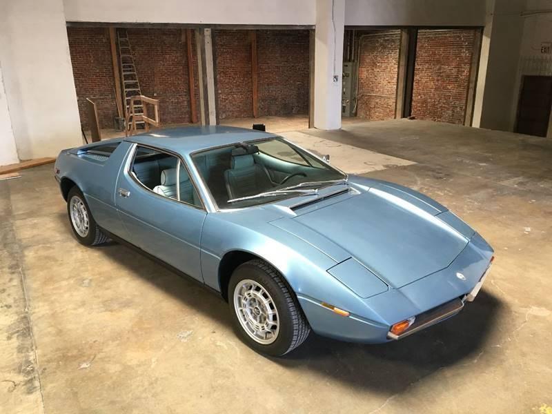 New 1973 Maserati Merak Euro Model