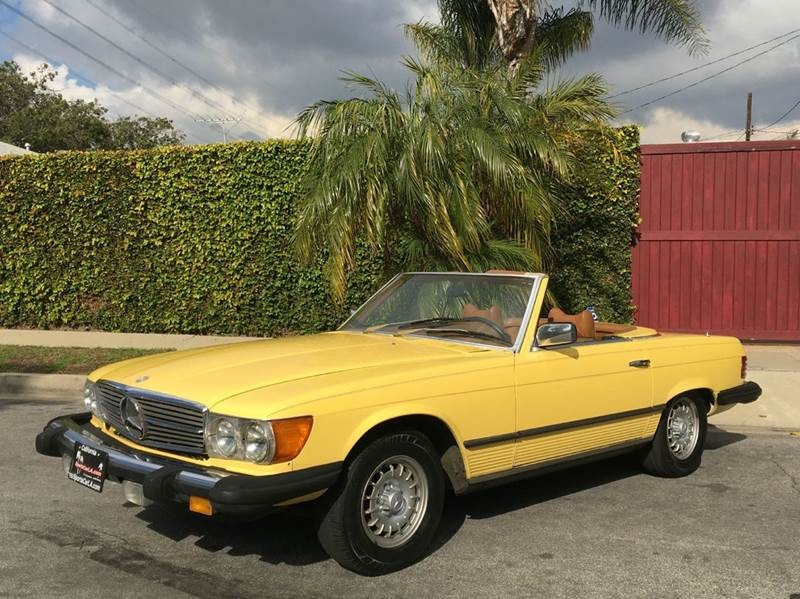 New 1977 Mercedes Benz 450SL