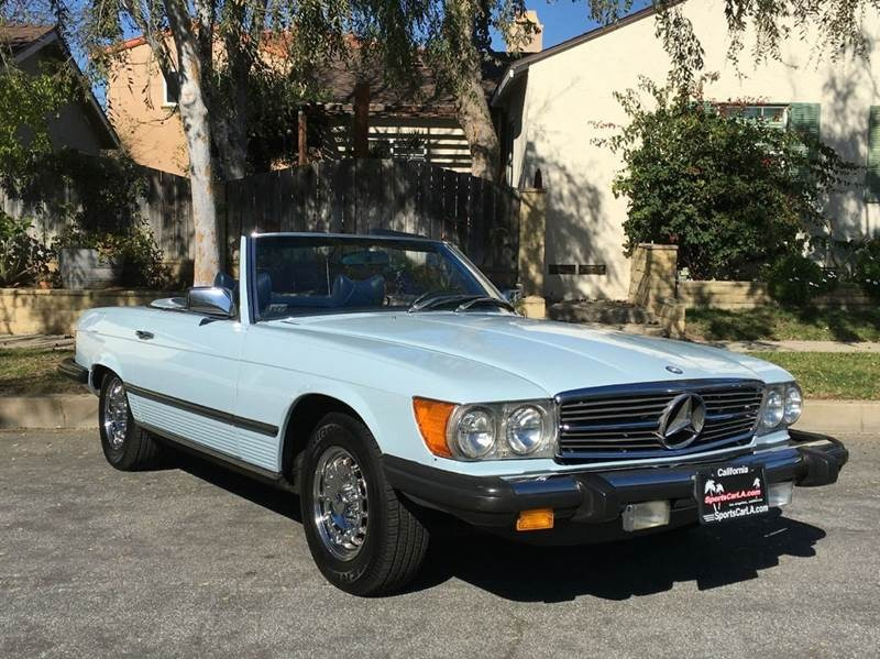 New 1979 Mercedes Benz 450SL