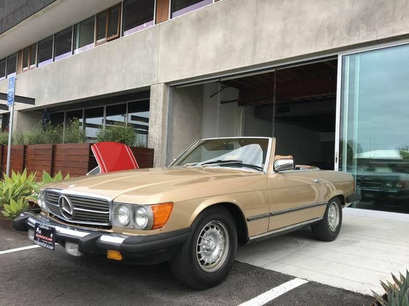 New 1985 Mercedes Benz 380 Class 380 SL 2dr Convertible