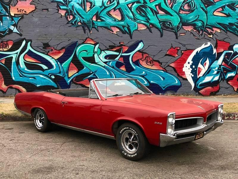 Used 1967 Pontiac Tempest 326 V8 Convertible For Sale ($14,750
