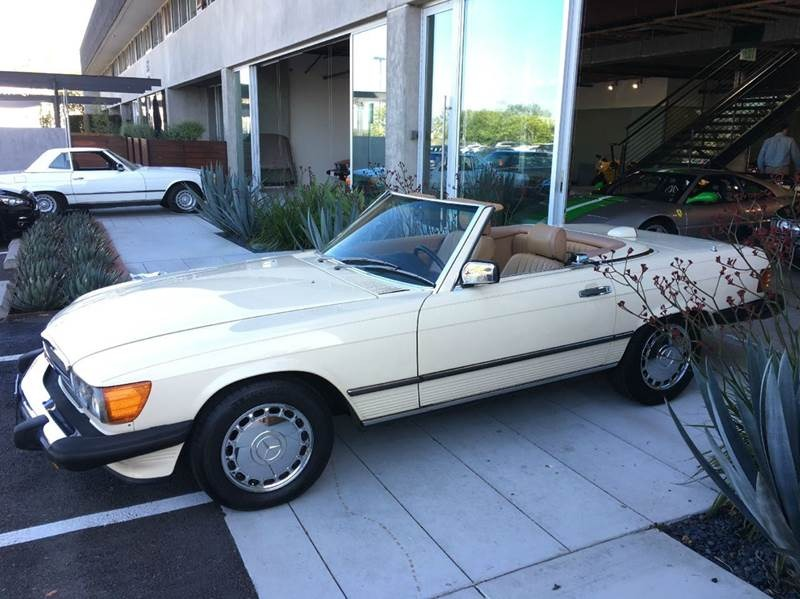 New 1987 Mercedes Benz 560SL 560 SL