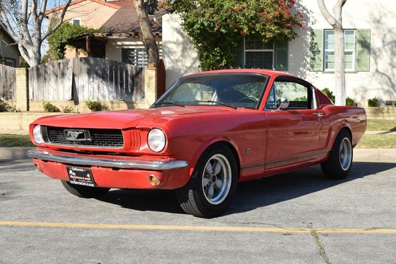 New 1966 Ford Mustang A Code Fastback