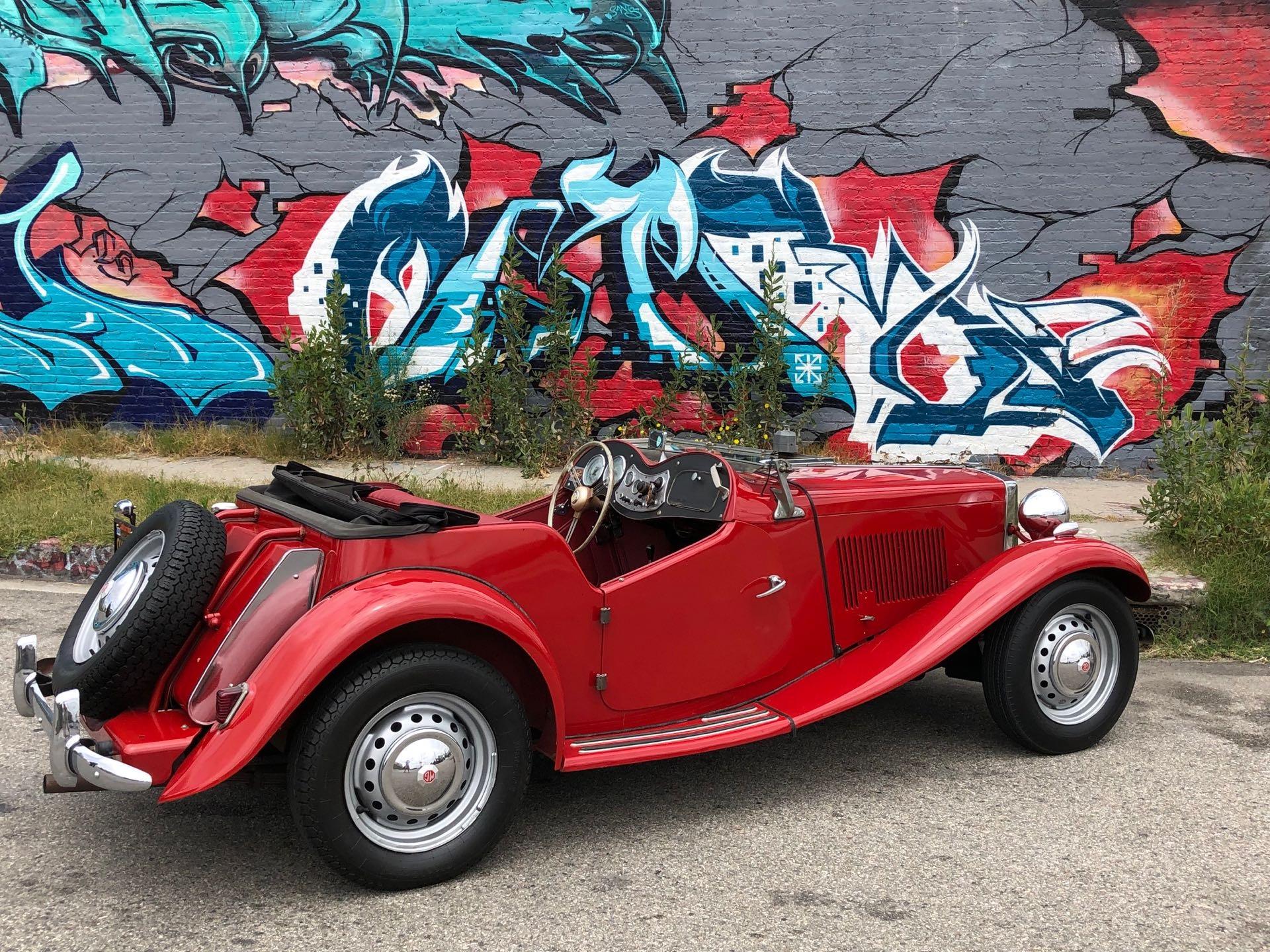 Used 1952 MG TD