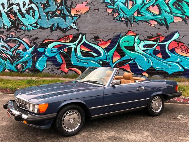 Used 1986 Mercedes Benz 560 Class 560 SL 2dr Convertible