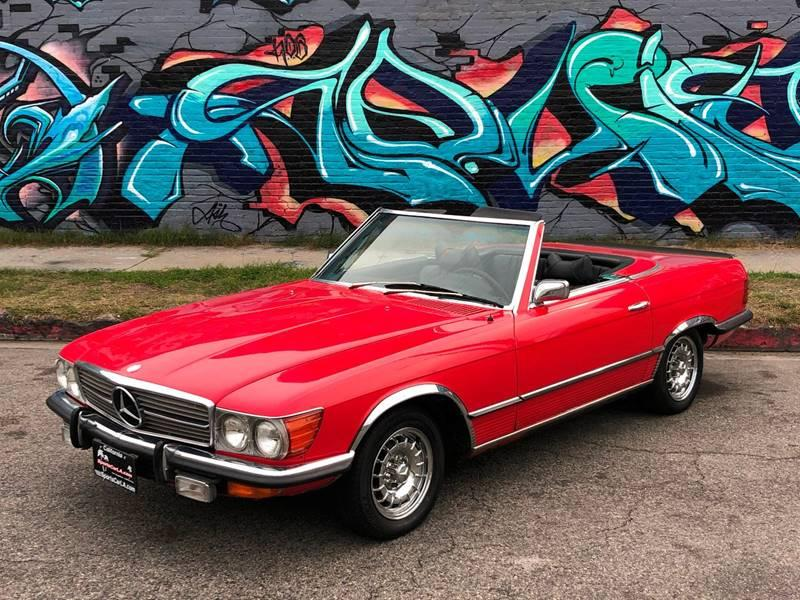 Used 1972 Mercedes Benz 350SL Manual 4 Speed