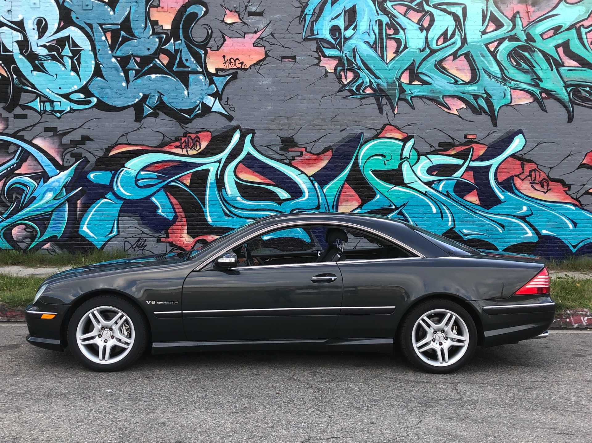 Used 2004 Mercedes Benz CL Class CL 55 AMG 2dr Coupe
