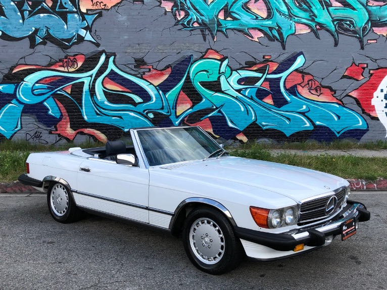 Used 1988 Mercedes-Benz 560-Class 560 SL 2dr Convertible