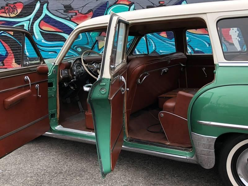 Used 1952 Chrysler New Yorker Town Country Wood Trim