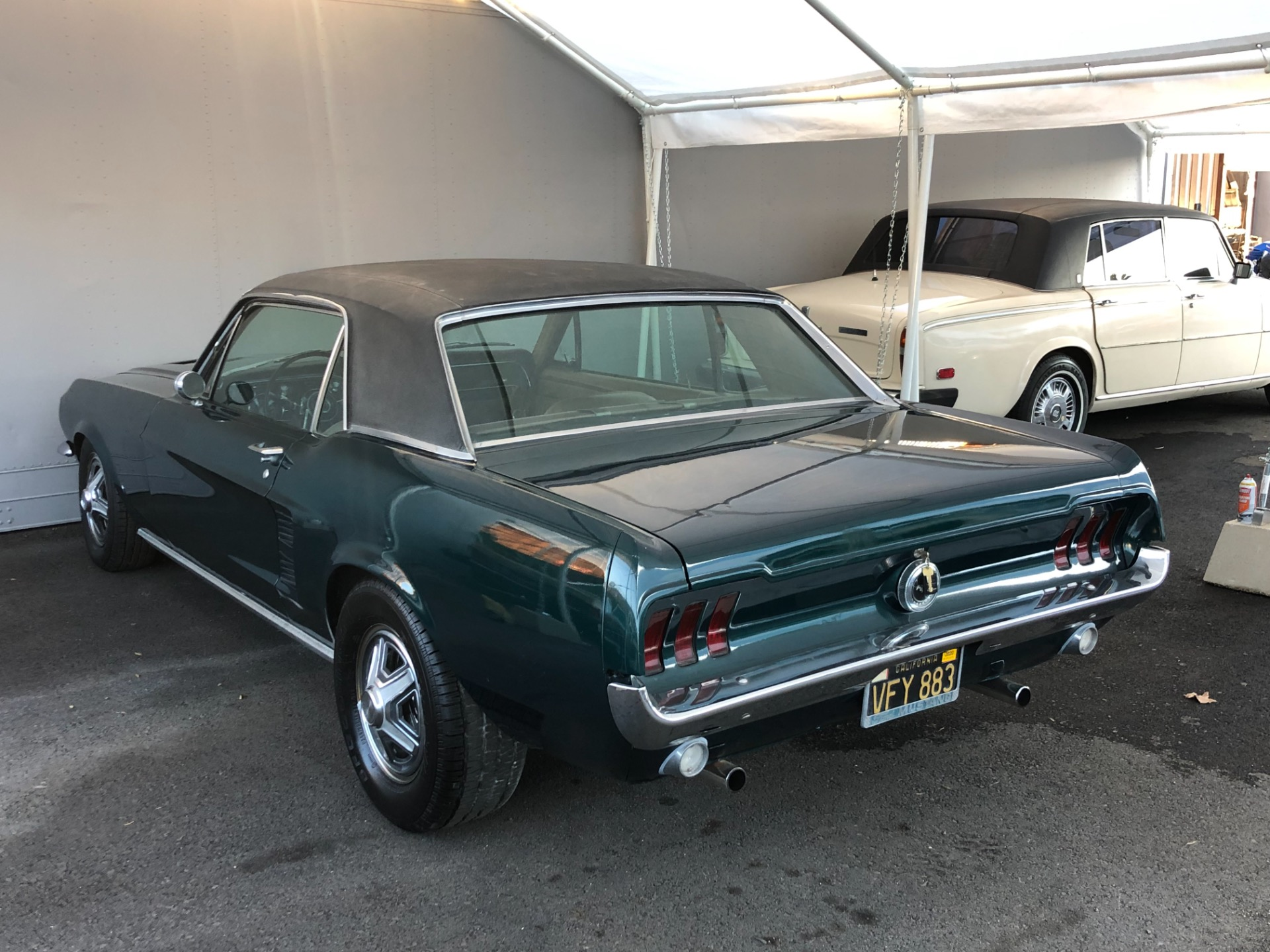 Used 1967 FORD MUSTANG C CODE
