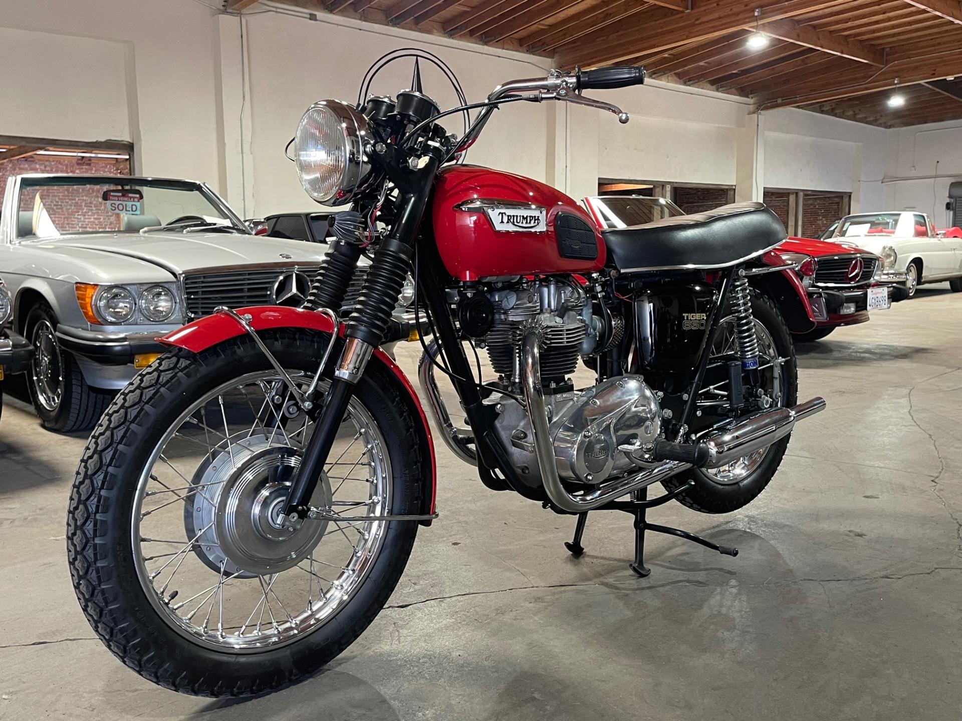 Used 1969 Triumph Tiger 650