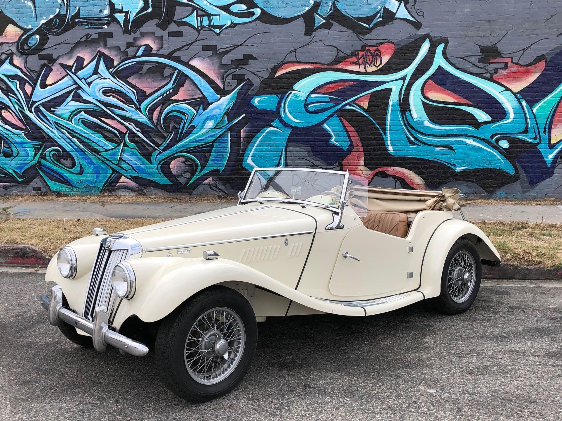 Used 1955 MG TF 1500