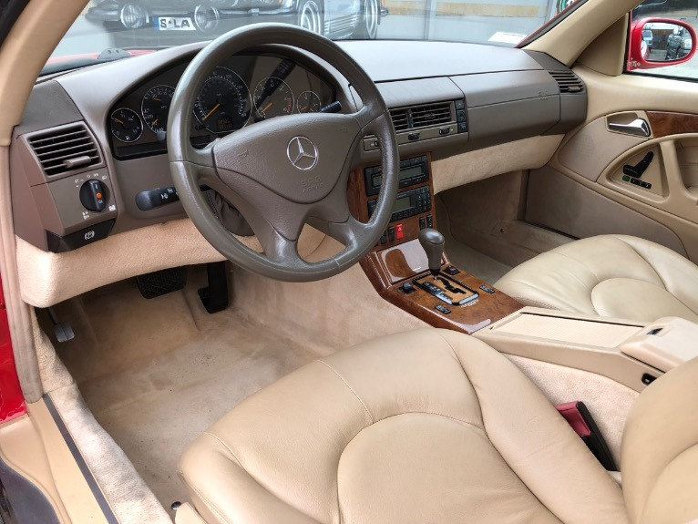 Used 2000 Mercedes Benz SL Class SL 500