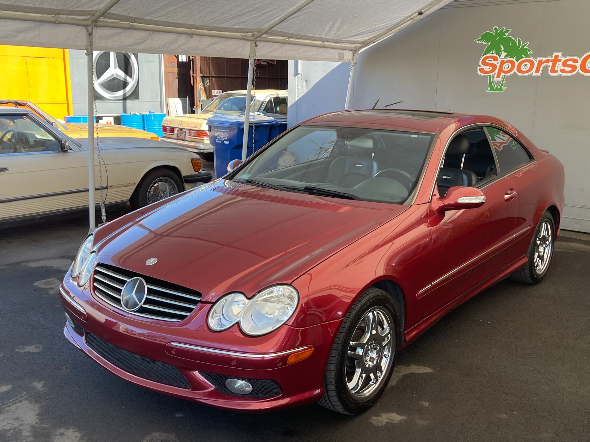 Used 2003 Mercedes Benz CLK 55 AMG