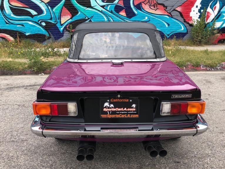 Used 1973 Triumph TR6