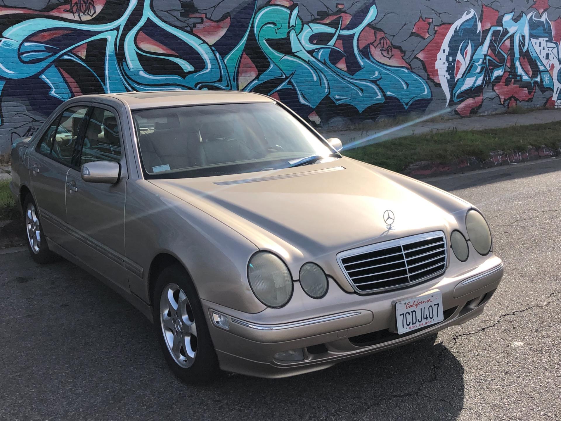 Used 2002 Mercedes Benz E Class E 320