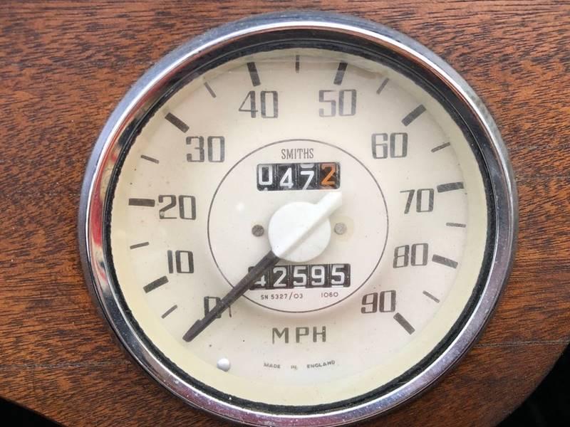 Used-1964-Morgan-4/4-Low-Body