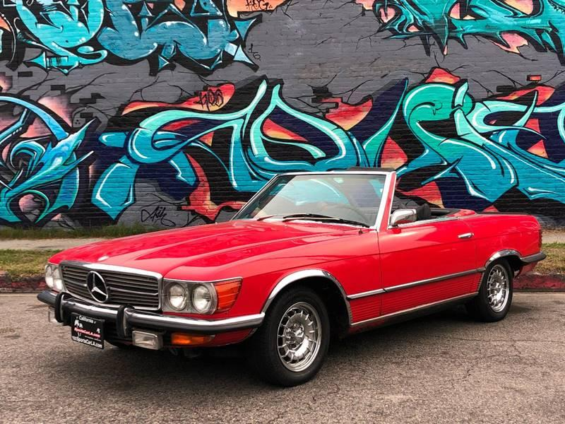 Used 1973 Mercedes Benz 350SL Manual 4 Speed