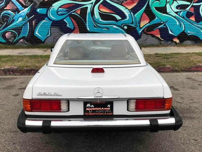 Used 1987 Mercedes Benz 560 Class 560 SL 2dr Convertible