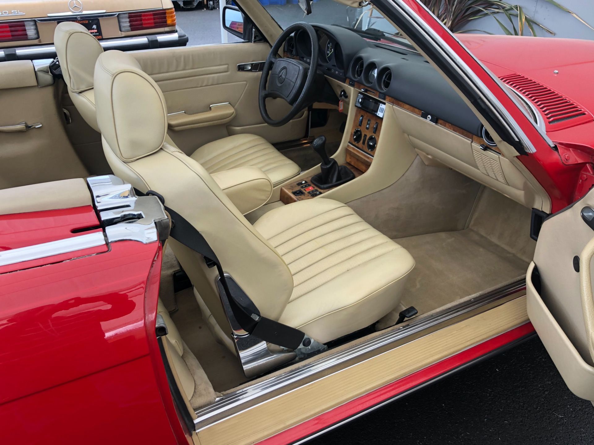 Used 1985 Mercedes Benz 280SL Convertible