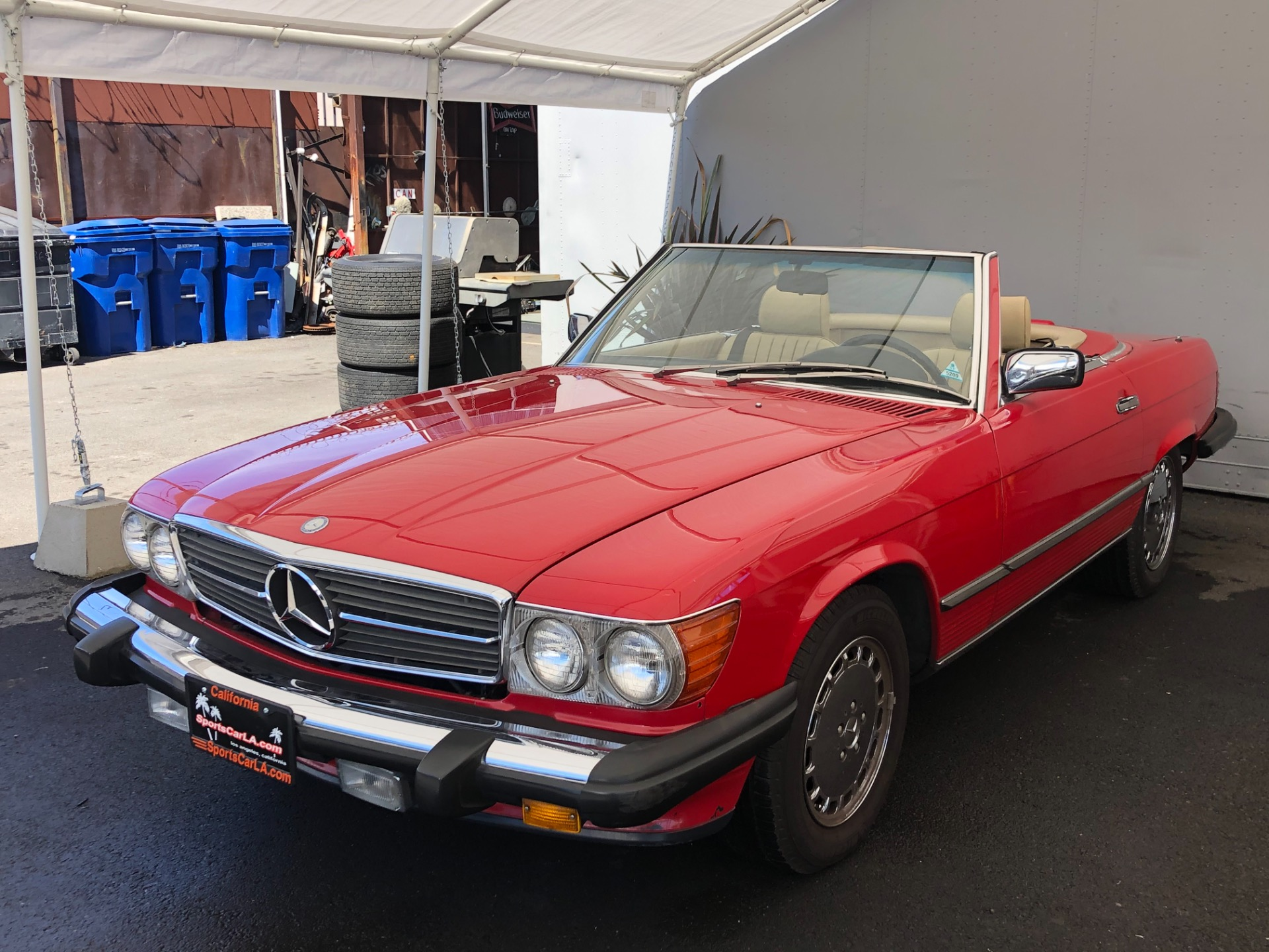 Used 1988 Mercedes-Benz 560-Class 560 SL For Sale ($21,750 ...