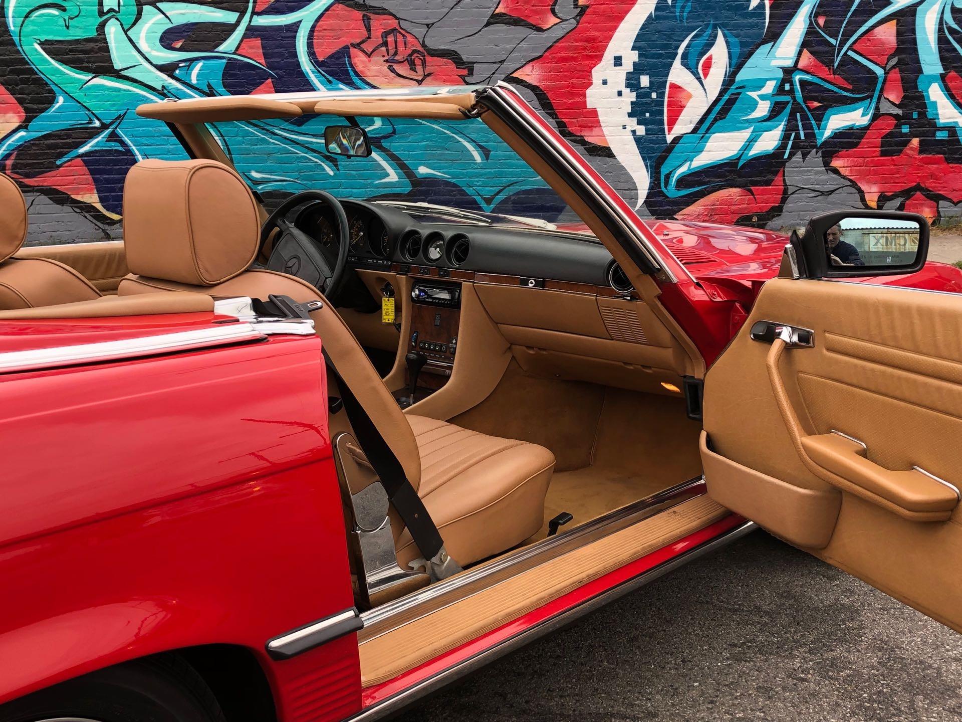 New 1986 Mercedes Benz 560 Class 560 SL 2dr Convertible