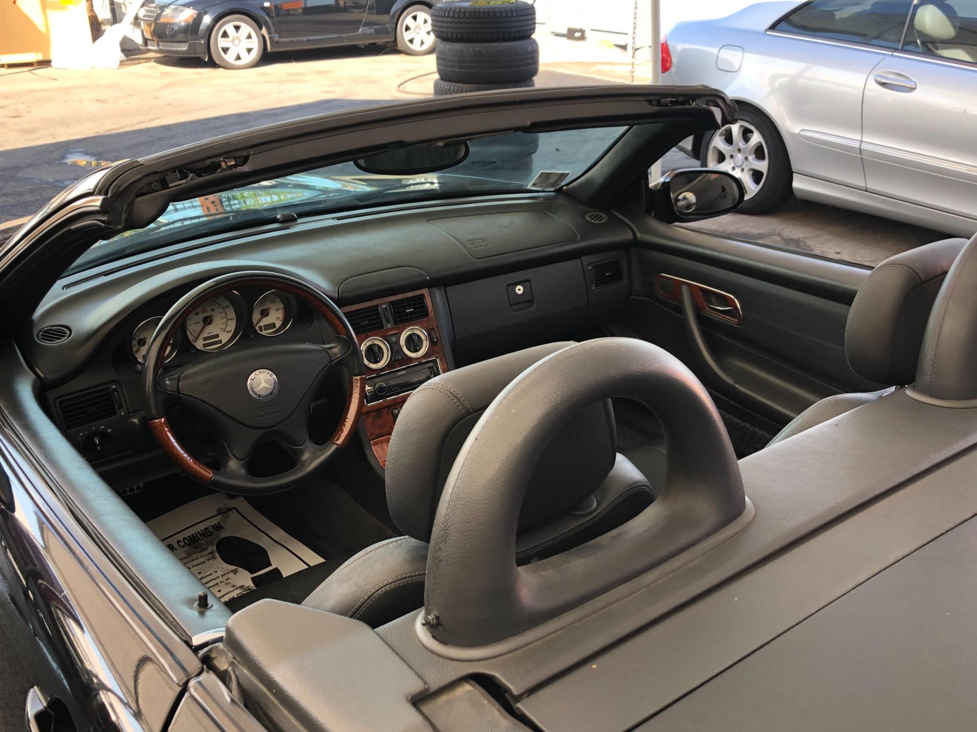 Used 2001 Mercedes Benz SLK Class 320 SLK
