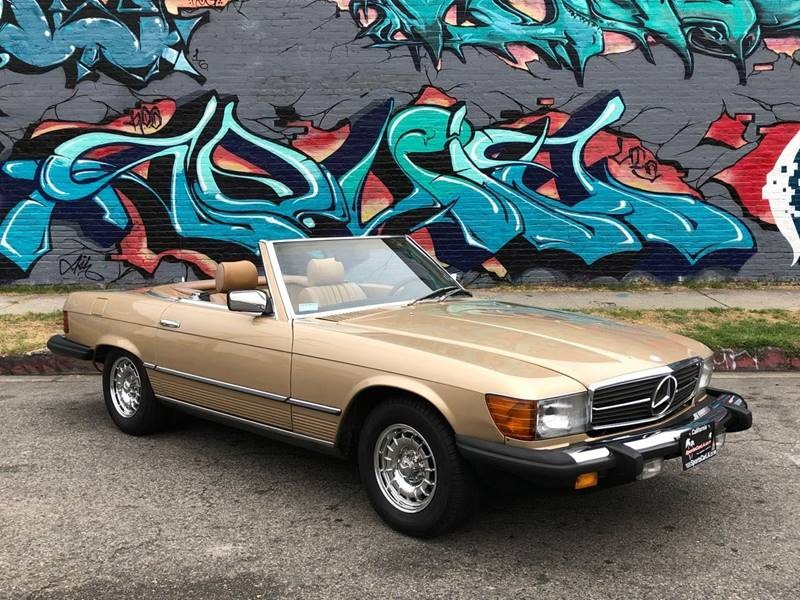 New 1984 Mercedes Benz 380 Class One Owner