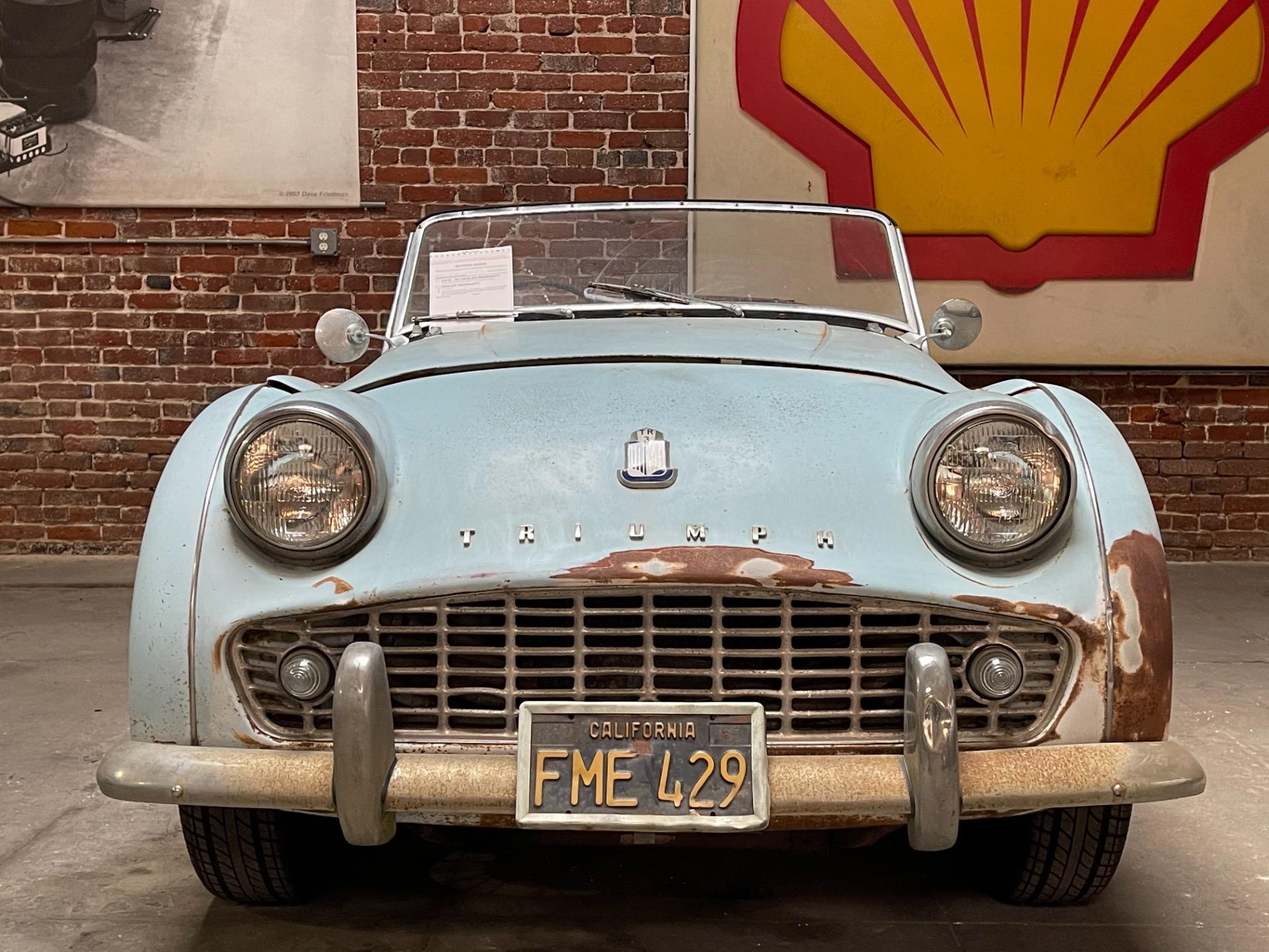 Used 1960 Triumph TR3 RHD