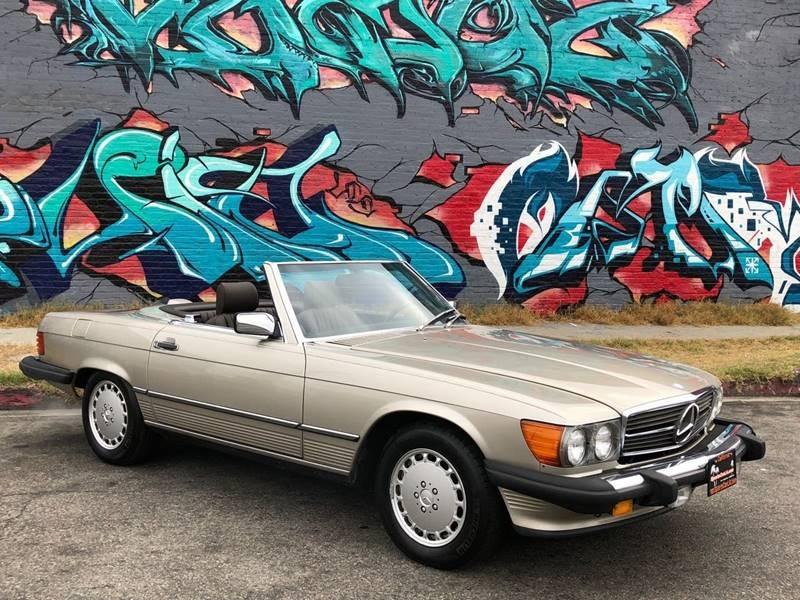 New-1987-Mercedes-Benz-560-Class-560-SL-2dr-Convertible