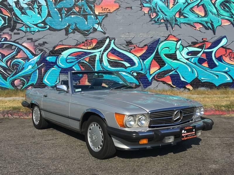 New 1987 Mercedes Benz 560 Class 560 SL 2dr Convertible