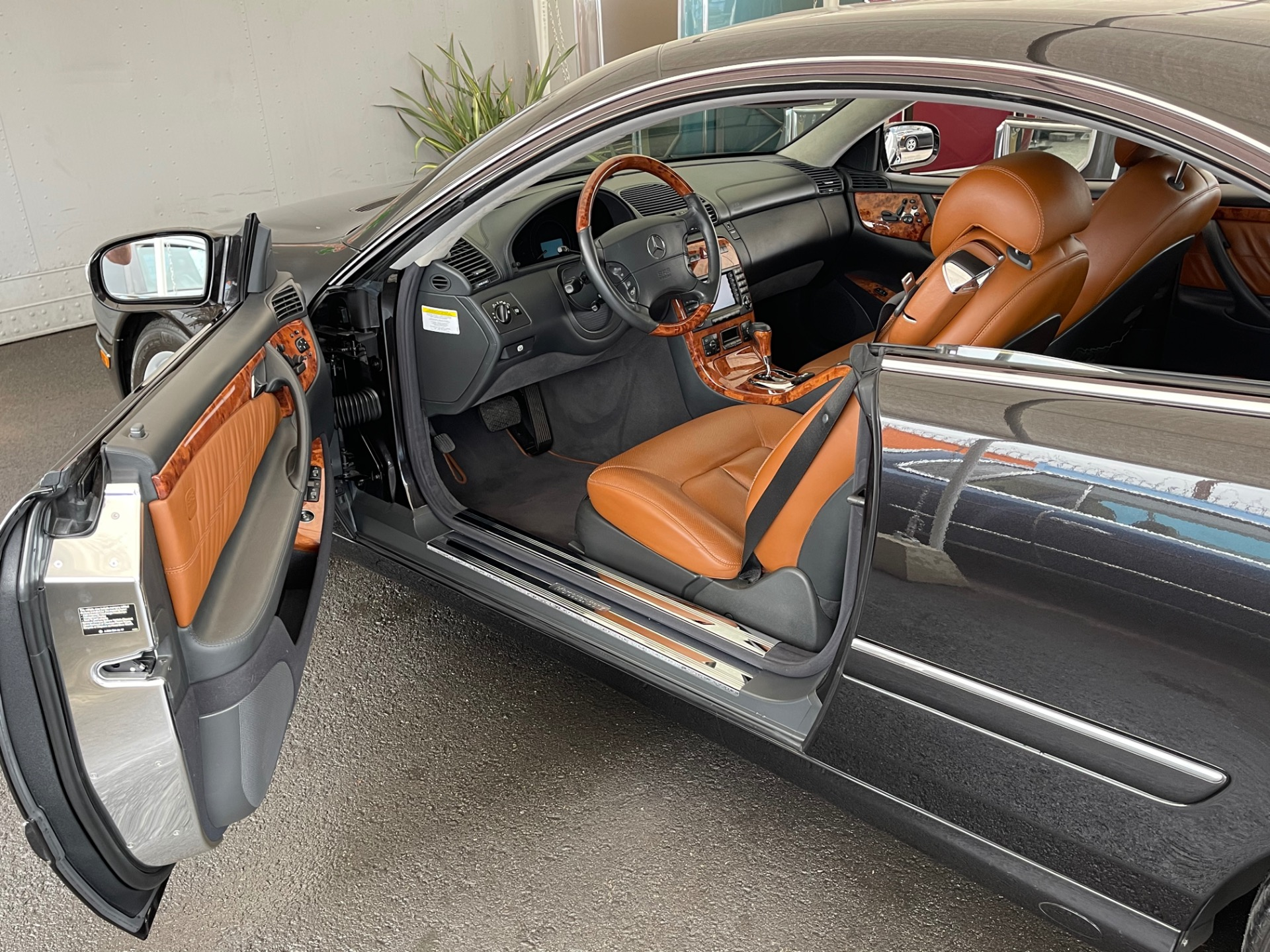 Used 2005 Mercedes Benz CL Class CL 500