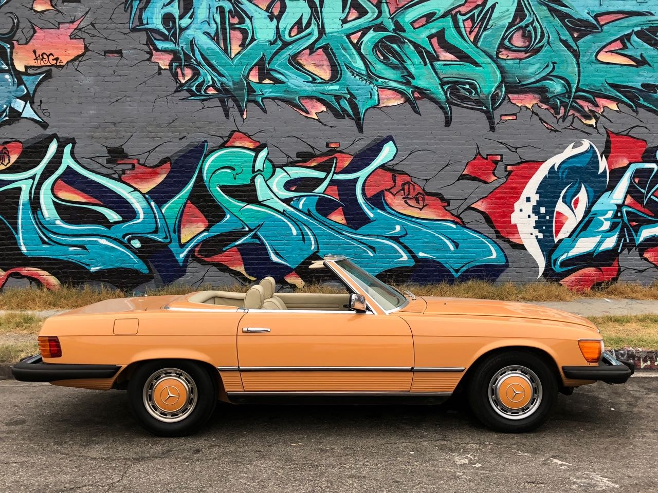 New-1976-Mercedes-Benz-450SL