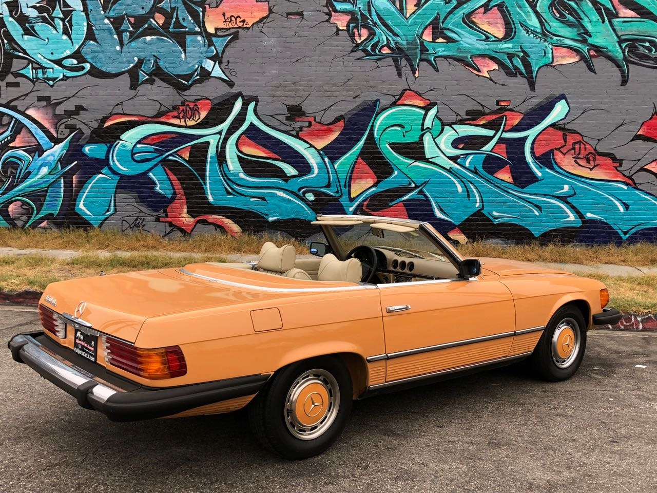New 1976 Mercedes Benz 450SL