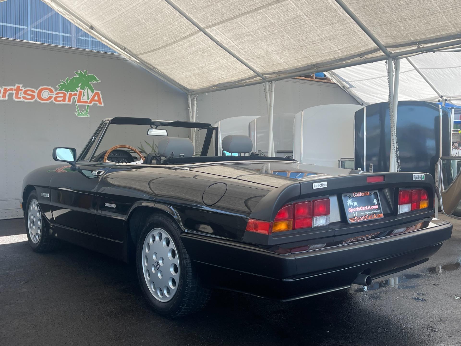 Used 1989 Alfa Romeo Spider Quadrifoglio