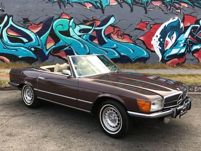 New 1973 Mercedes Benz 450 SL Euro bumpers