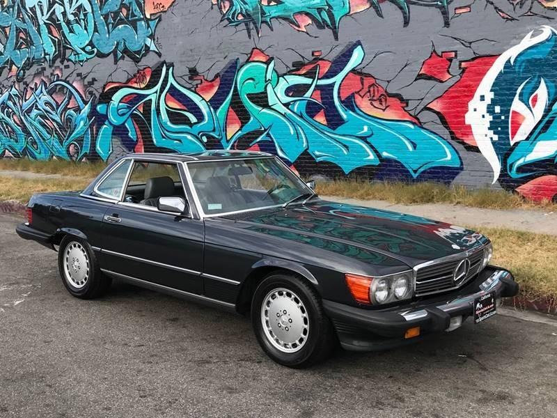 New 1989 Mercedes Benz 560 Class 560 SL 2dr Convertible