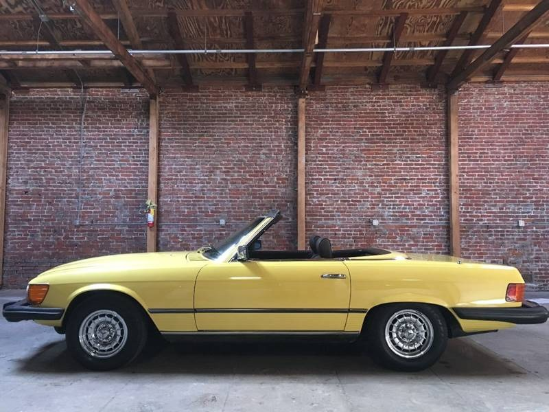 New 1980 Mercedes Benz 450 SL LEATHER