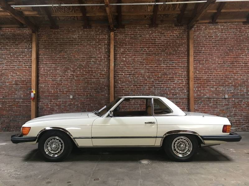 New 1978 Mercedes Benz 450 SL two tops